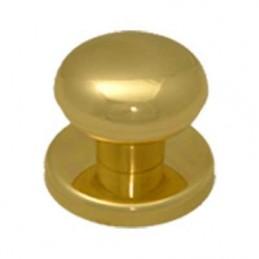 Pomolo 'giove' oro lucido