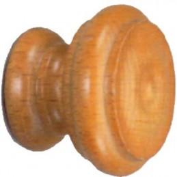 Pomolo legno verniciato '102' cf 2 pz