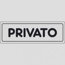 Etichetta 'Privato'
