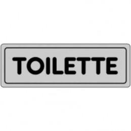 Etichetta 'Toilette'