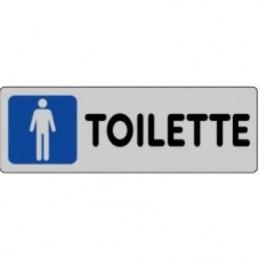 Etichetta 'Toilette uomini'