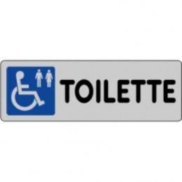 Etichetta 'Toilette disabili'